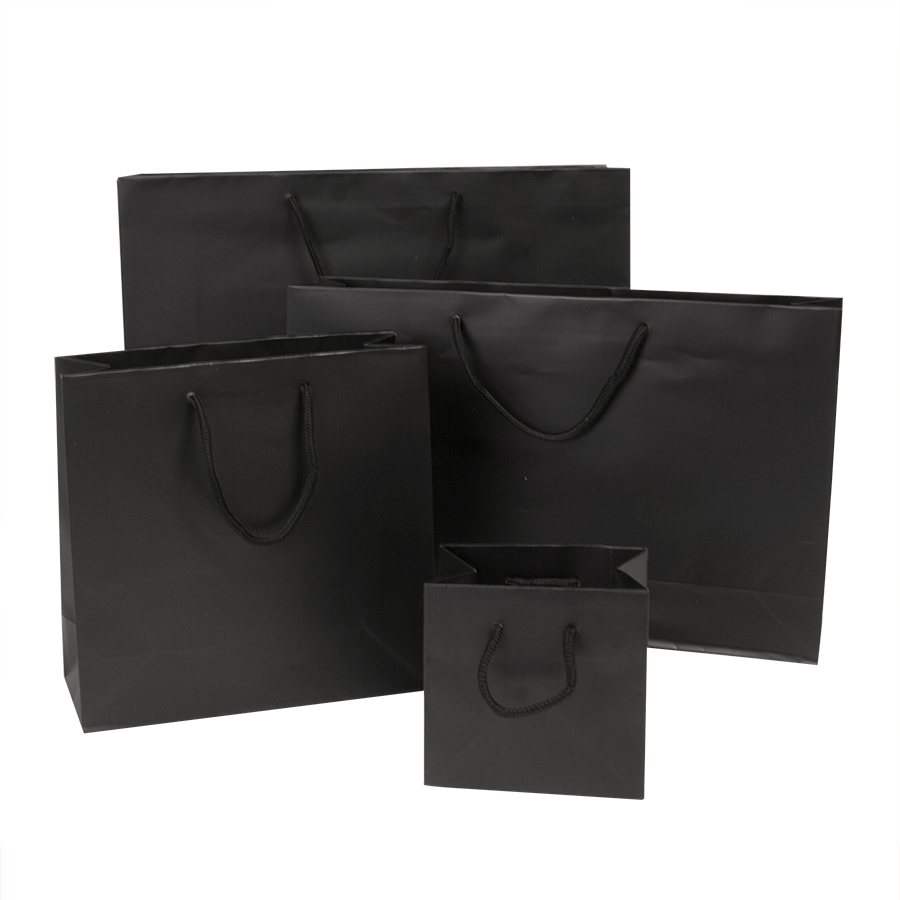 Black Gift Bags Luxury Paper Gift Bags Barry Packaging