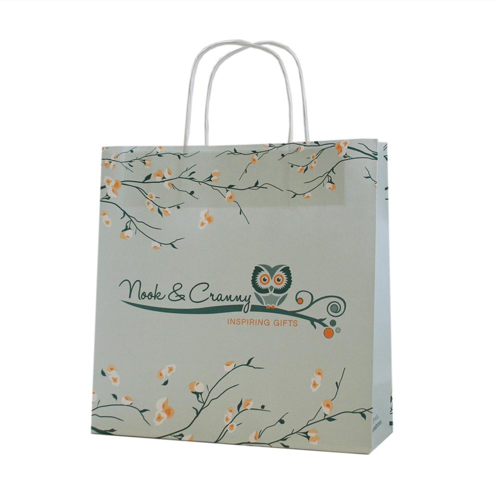 Creative Custom Printed Paper Bag Branded Paper Bags