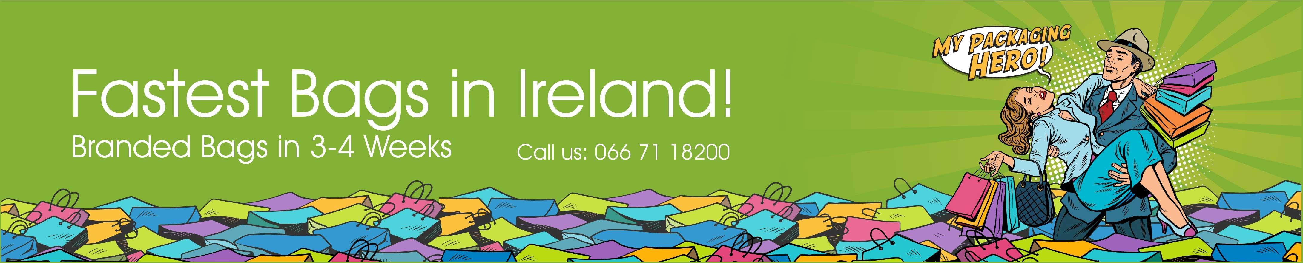 Custom Printed Paper Bags Ireland